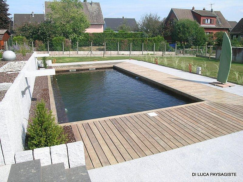 Plancher bois di luca paysagiste belfort am nagement ext rieur piscine naturelle bassin - Terrassement bassin d arcachon tourcoing ...