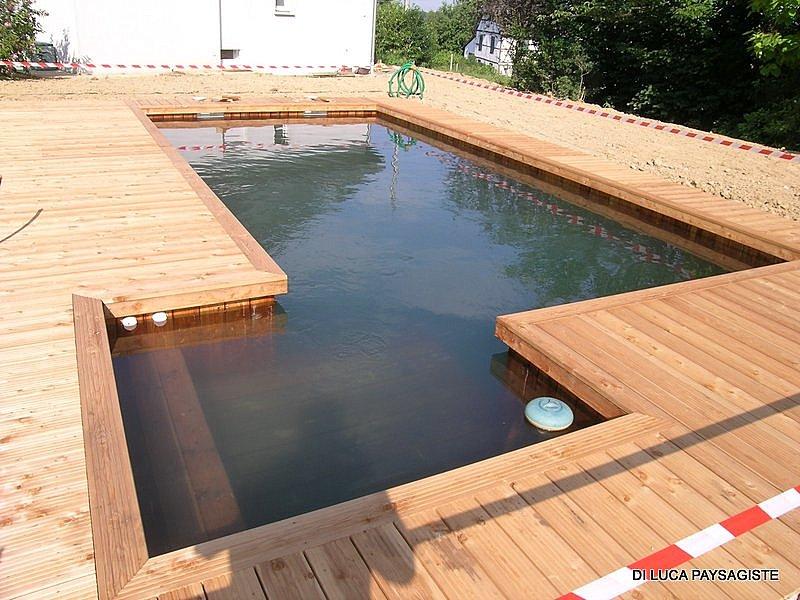 Piscine di luca paysagiste belfort am nagement ext rieur piscine naturelle bassin d - Bassin carre bois mulhouse ...