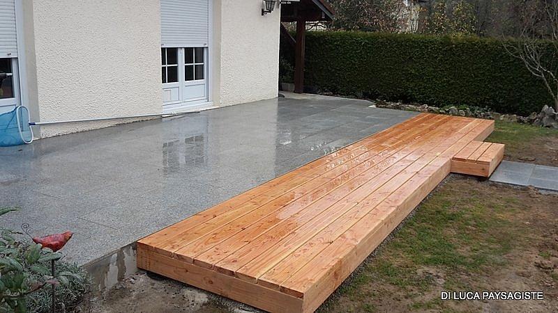 plancher bois di luca paysagiste belfort am nagement On plancher exterieur bois